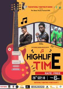 Highlife Time Concert Poster