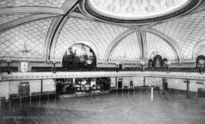 The Graystone ballroom's interior