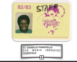 Paradise Garage Membership Card
