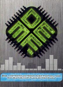 DEMF 2001 logo